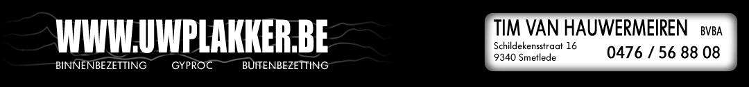 uwplakker.be Logo